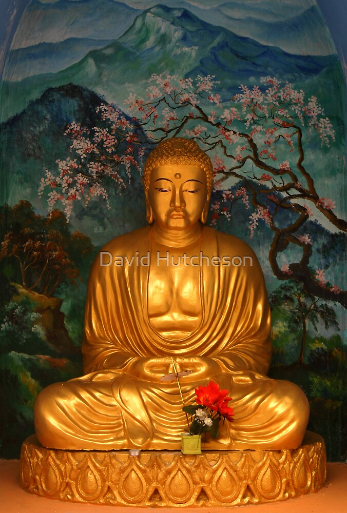 Buddhist Shrine 2 by David Hutcheson