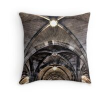Cloisters ceiling Throw Pillow