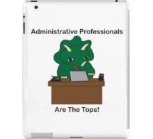 Administrative Professionals Top Triceratops Dinosaur iPad Case/Skin