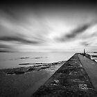 Watchet Pier by igotmeacanon