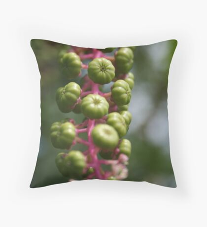 """Quiet, Bud."" Throw Pillow"