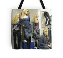 Sirens with Legs Tote Bag