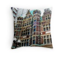The Dayton Arcade Throw Pillow