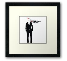 Jim Moriarty - Consulting Criminal Framed Print