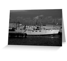 Working Harbour Greeting Card