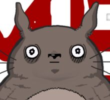 Valentine's Totoro Sticker