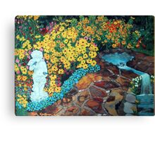 """Angelic Garden of Inspiration"" Canvas Print"
