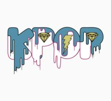 KPOP Drip Blue by threadstreets