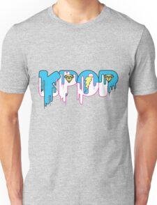 KPOP Drip Blue Unisex T-Shirt