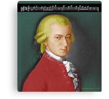 Nacht Mozart Canvas Print