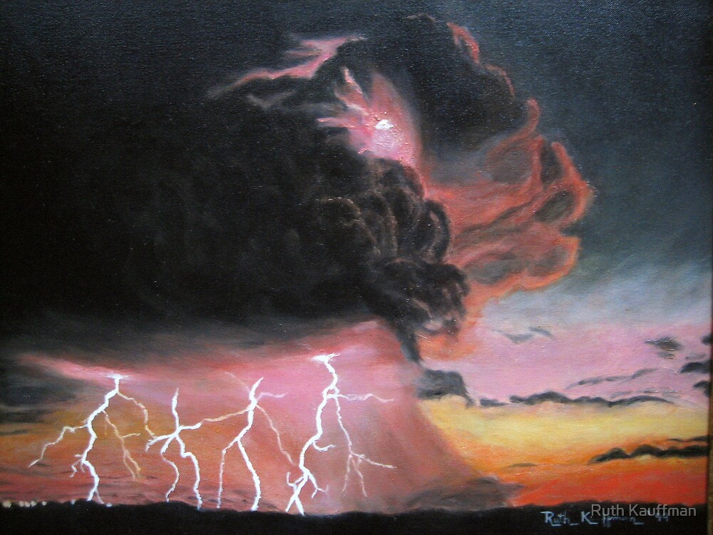 """""""THE STORM"""" by Ruth Kauffman"""