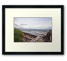 Vancouver Island Beach Framed Print