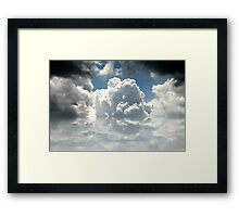 Change is in the Air Framed Print