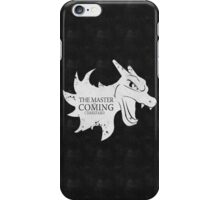 Master is Coming - Charizard iPhone Case/Skin