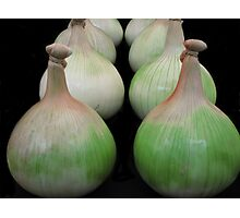 Know your onions Photographic Print