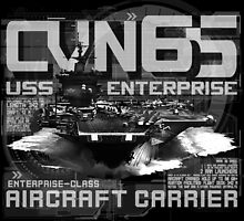 USS Enterprise CVN-65 by deathdagger