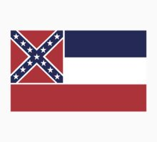 mississippi state flag Kids Clothes