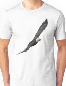Isolated Eagle-4 Unisex T-Shirt