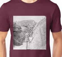 Unpublished 07 (n&b)(t)  1915 (on the front photographs ever published 1914-1918 war photos and Tribute to my 2 great Uncles Clerté-Fayolle died in 1915  Unisex T-Shirt