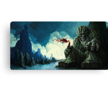 Stone Giant Canvas Print