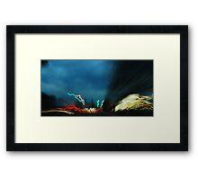 Highway Blender Framed Print