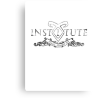 Institute London Canvas Print