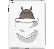 Creepy Pocket Totoro iPad Case/Skin