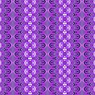 Purple Pattern by joanw