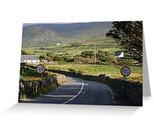 waterville kerry Greeting Card