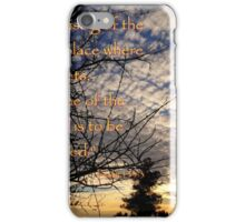 The Name Of The Lord iPhone Case/Skin