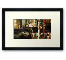 The New York Second Framed Print