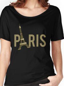 Paris Eiffel Tower Women's Relaxed Fit T-Shirt