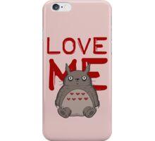 Valentine's Totoro iPhone Case/Skin