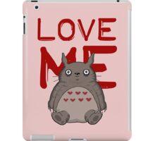 Valentine's Totoro iPad Case/Skin
