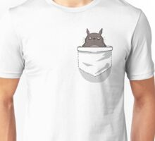 Creepy Pocket Totoro Unisex T-Shirt