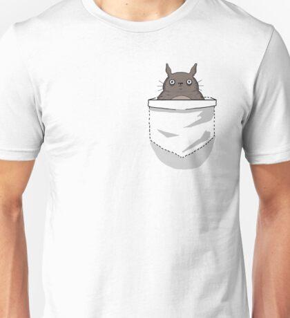 Creepy Pocket Totoro Unisex T-Shirt