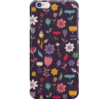 Colorful Abstract Floral Pattern iPhone Case/Skin