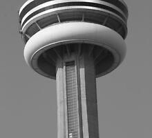 CN Tower and Elevator by Karla76
