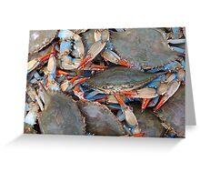 Crab Festival Greeting Card