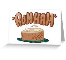 Rumham, It's always sunny in philadelphia fan art Greeting Card