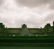 The Louvre on 35mm by kkirstind