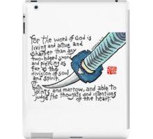 Living Sword iPad Case/Skin