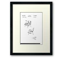 Eero Saarinen - Womb Chair - Patent Artwork Framed Print