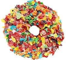 Fruity Pebbles Donut by TheSloan
