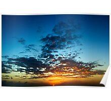 Aruba Sunset Poster
