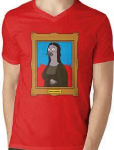 Mona Pigeon Mens V-Neck T-Shirt