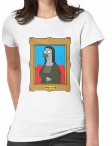 Mona Pigeon Womens Fitted T-Shirt