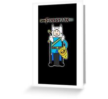 Finn Stark Greeting Card