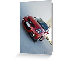 Suzuki Swift Sports Portrait Greeting Card