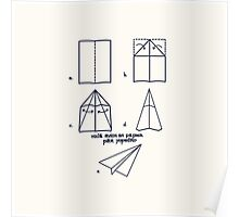 Paper Airplane 96 Poster